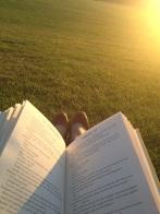 Lendo no Greenwich Park